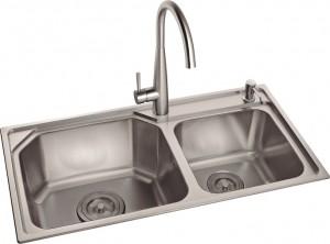 Chậu rửa bát Inox Romal RS-8243