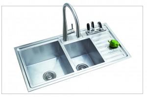 Chậu rửa Inox Romal RS - 8845B